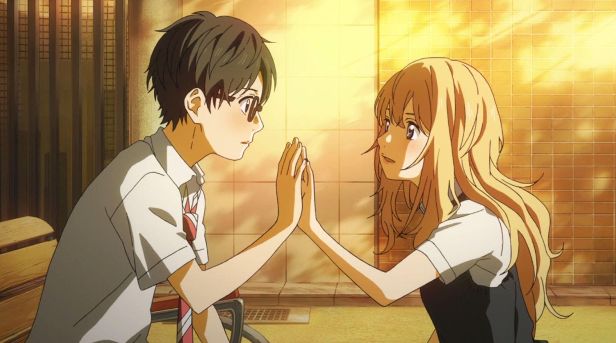 Kosei and Kaori (Your lie in April)