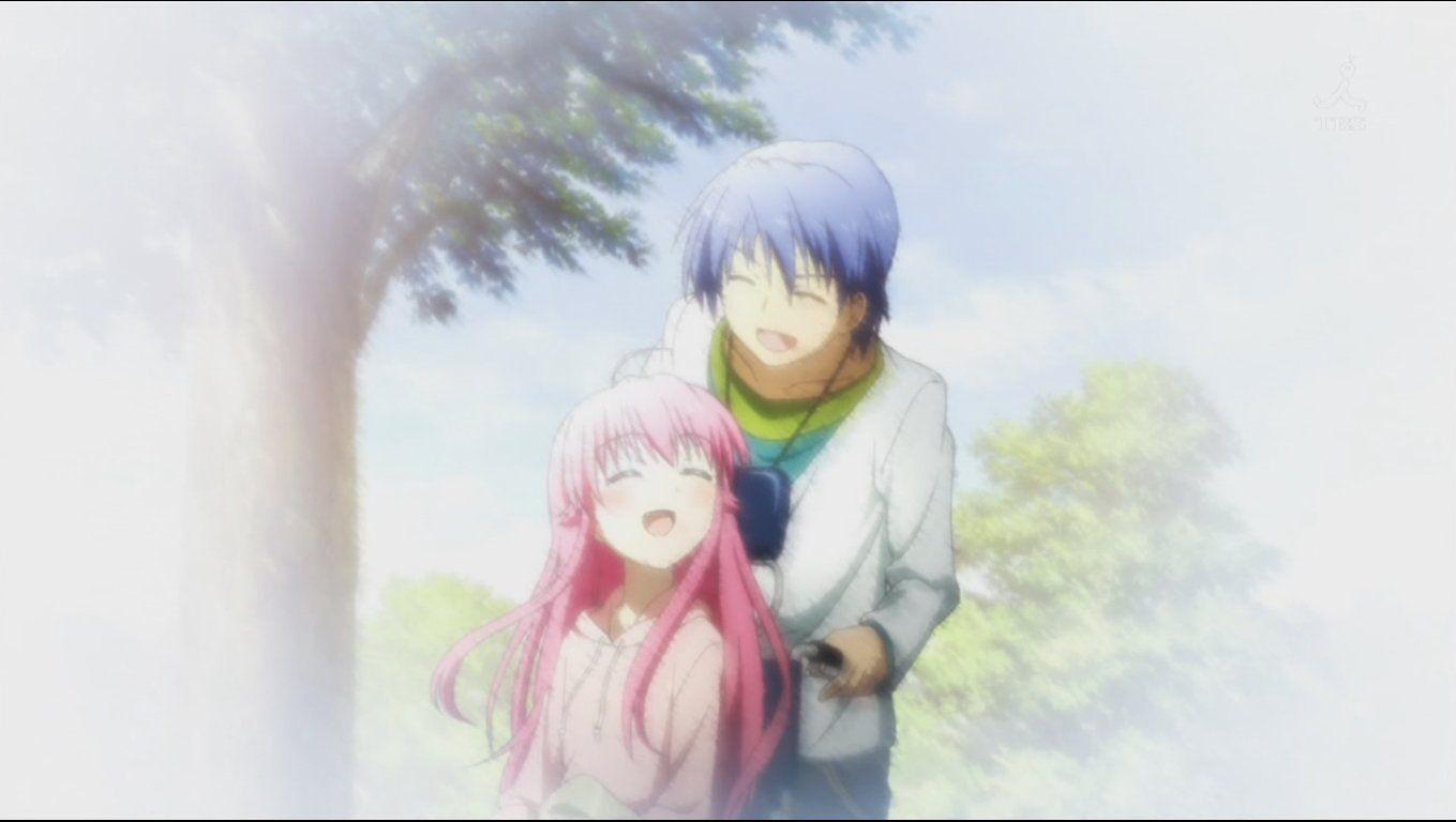 Yui and Hinata (Angel Beats)