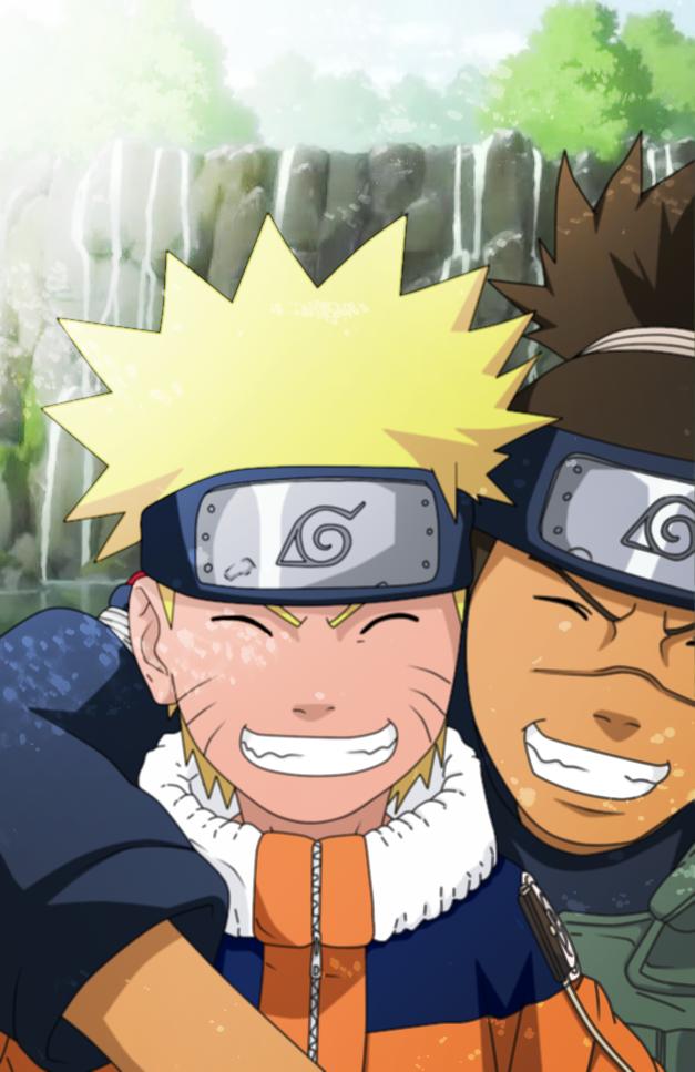 Naruto & Iruka