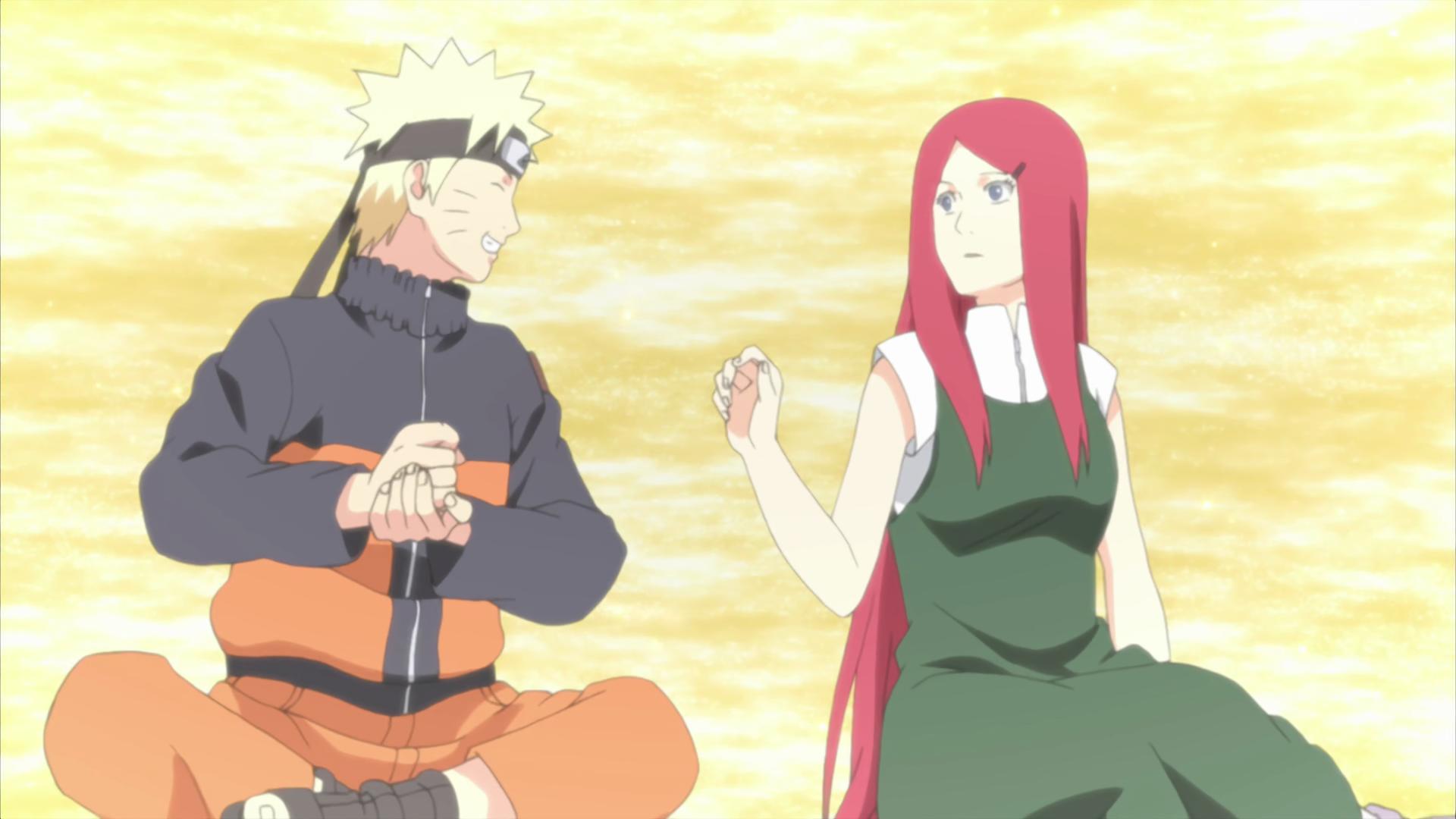 Kushina Uzumaki filled Naruto with Love