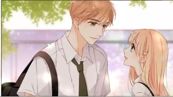 Lin Lu and Xia Yi Love Like Cherry Blossoms romance manga