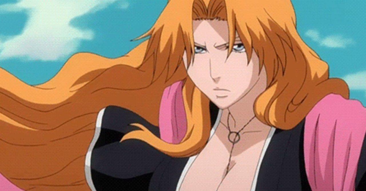 Rangiku, female bleach characters