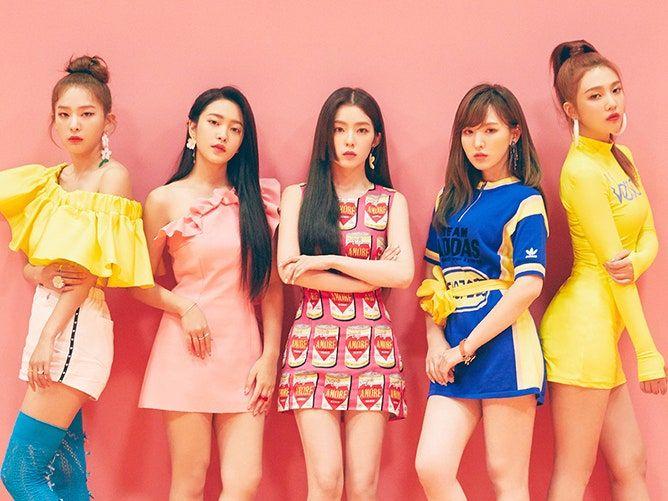 Kpop band Red Velvet