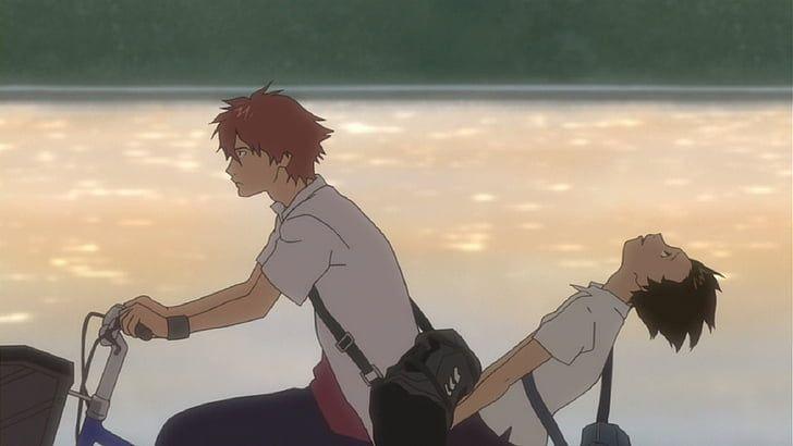 Makoto and Chiaki (The Girl Who Leapt Through Time)