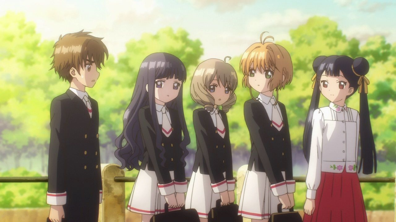 Cardcaptor Sakura Clear Card Season 1 Characters