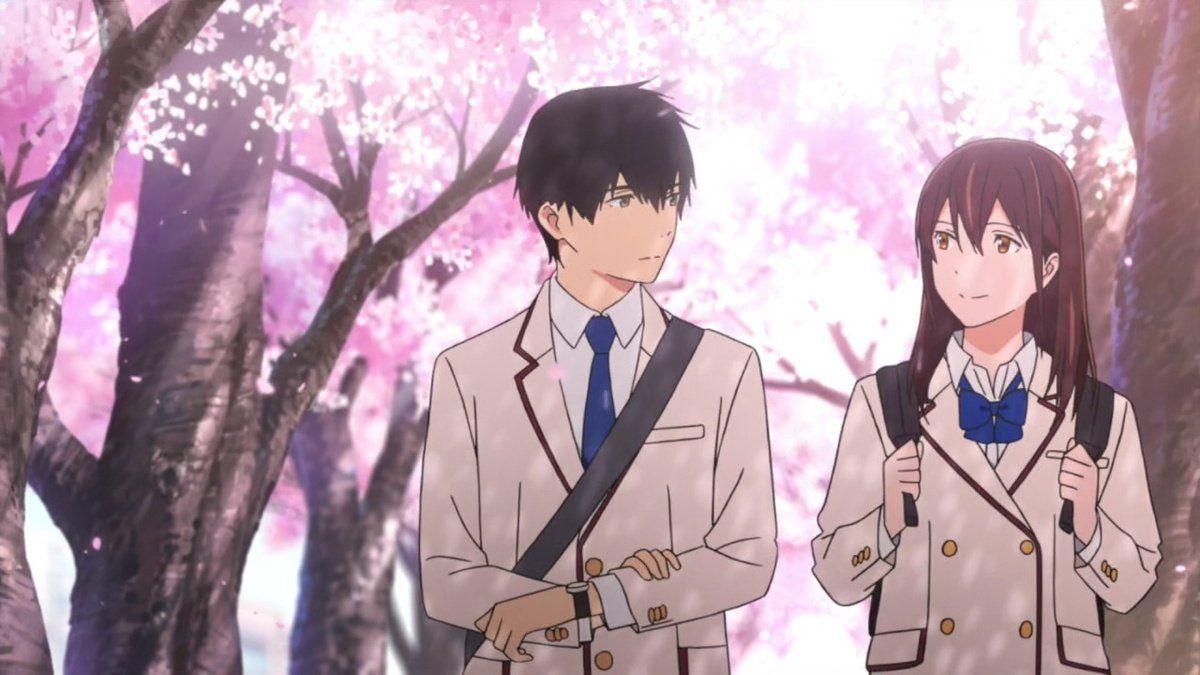 Haruki and Sakura (I Want to Eat Your Pancreas)