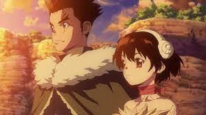 Yuzuriha and Taiju