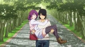 Hitagi and Koyomi
