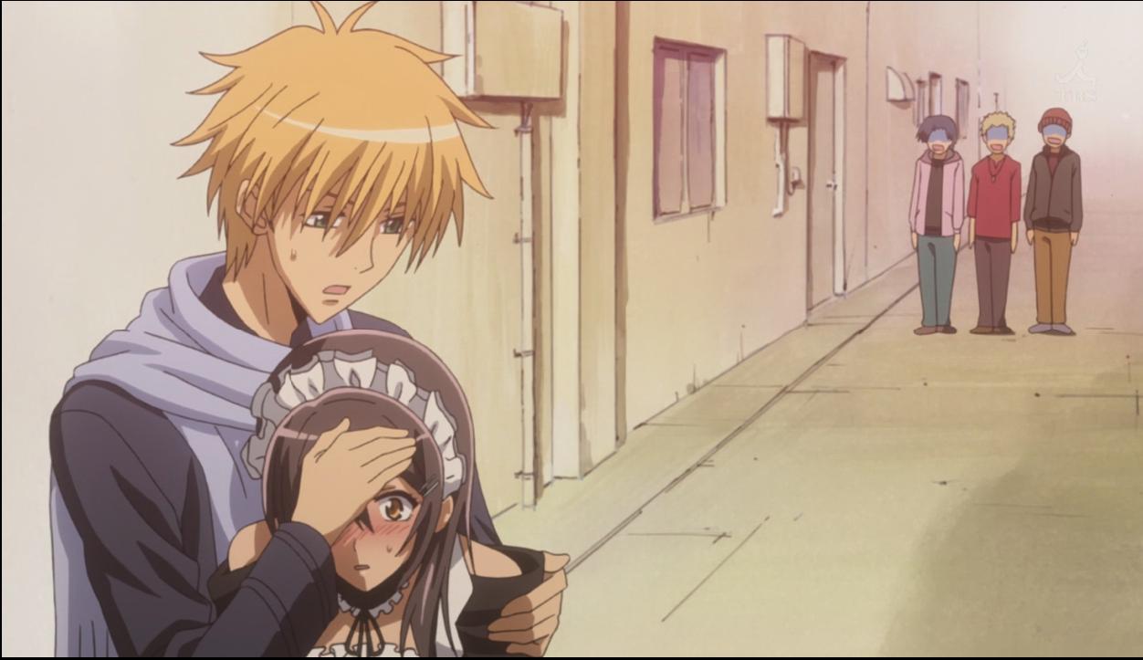 When Misaki fell sick