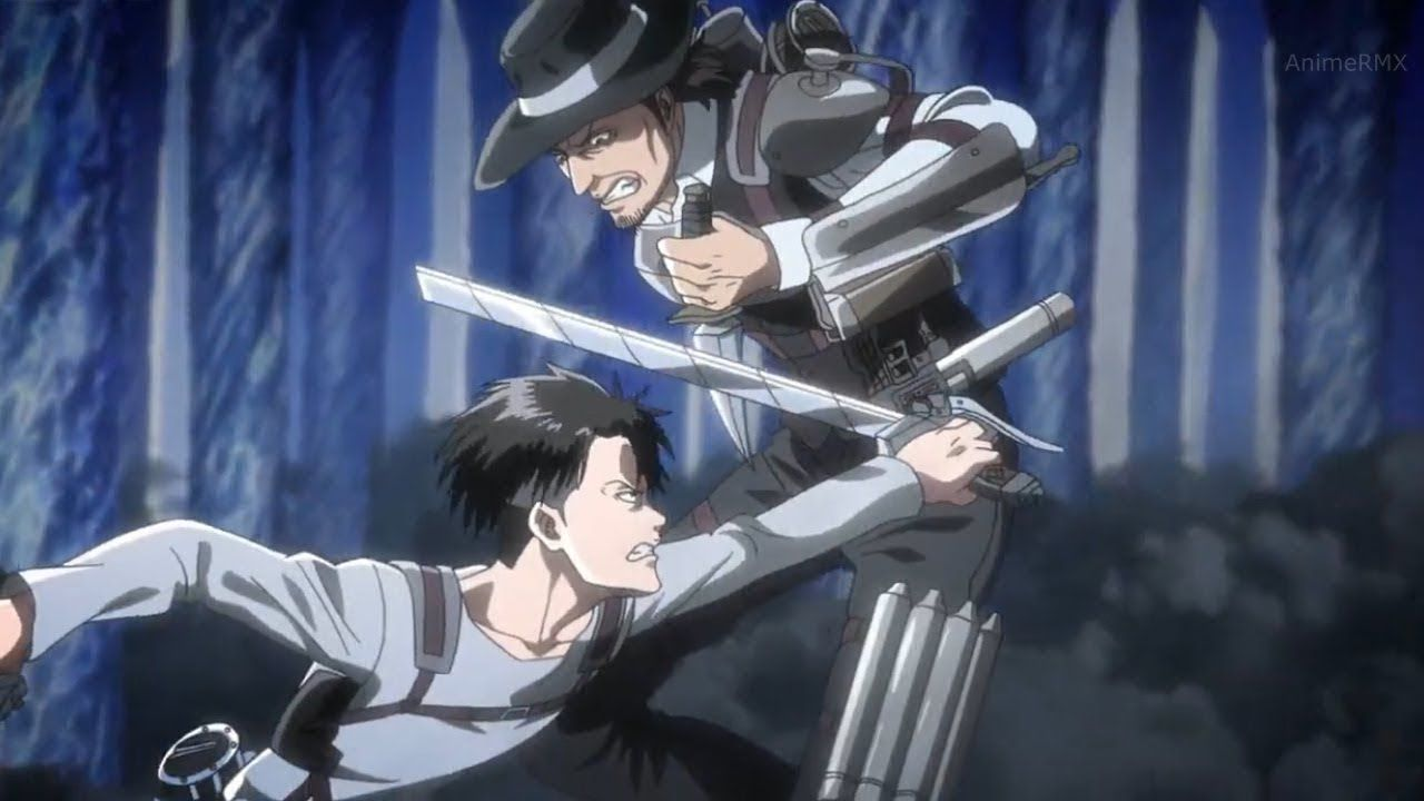 Levi's Final Fight with Kenny