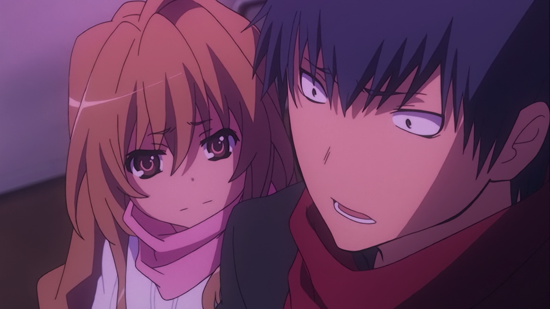 Toradora Ending- Ryuuji and Taiga