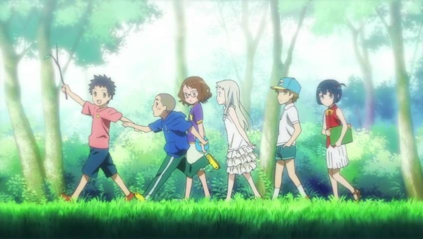 Super Peace Busters episode 1 jintan yadomi