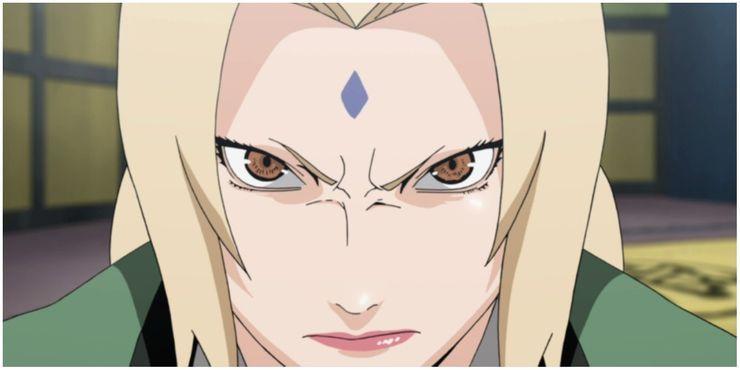 10. Tsunade Senju (Naruto)