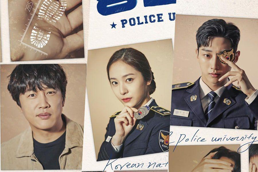 Cha Tae Hyun and Jin Young starring Police University Kdrama in 2021