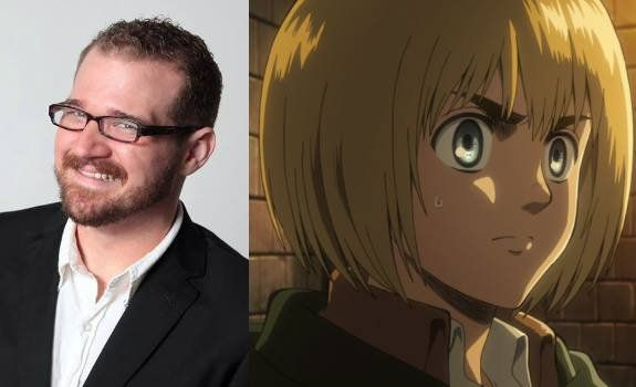 Josh Grelle voiced the English version of Armin Arlert.