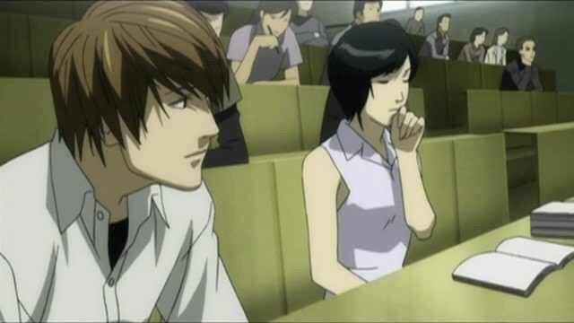Light Yagami and Kiyomi Takada