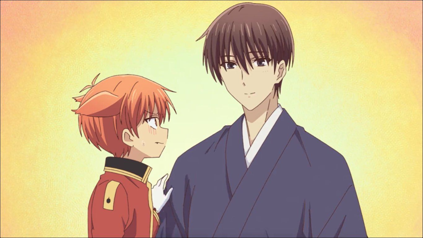Kazuma and Kyo