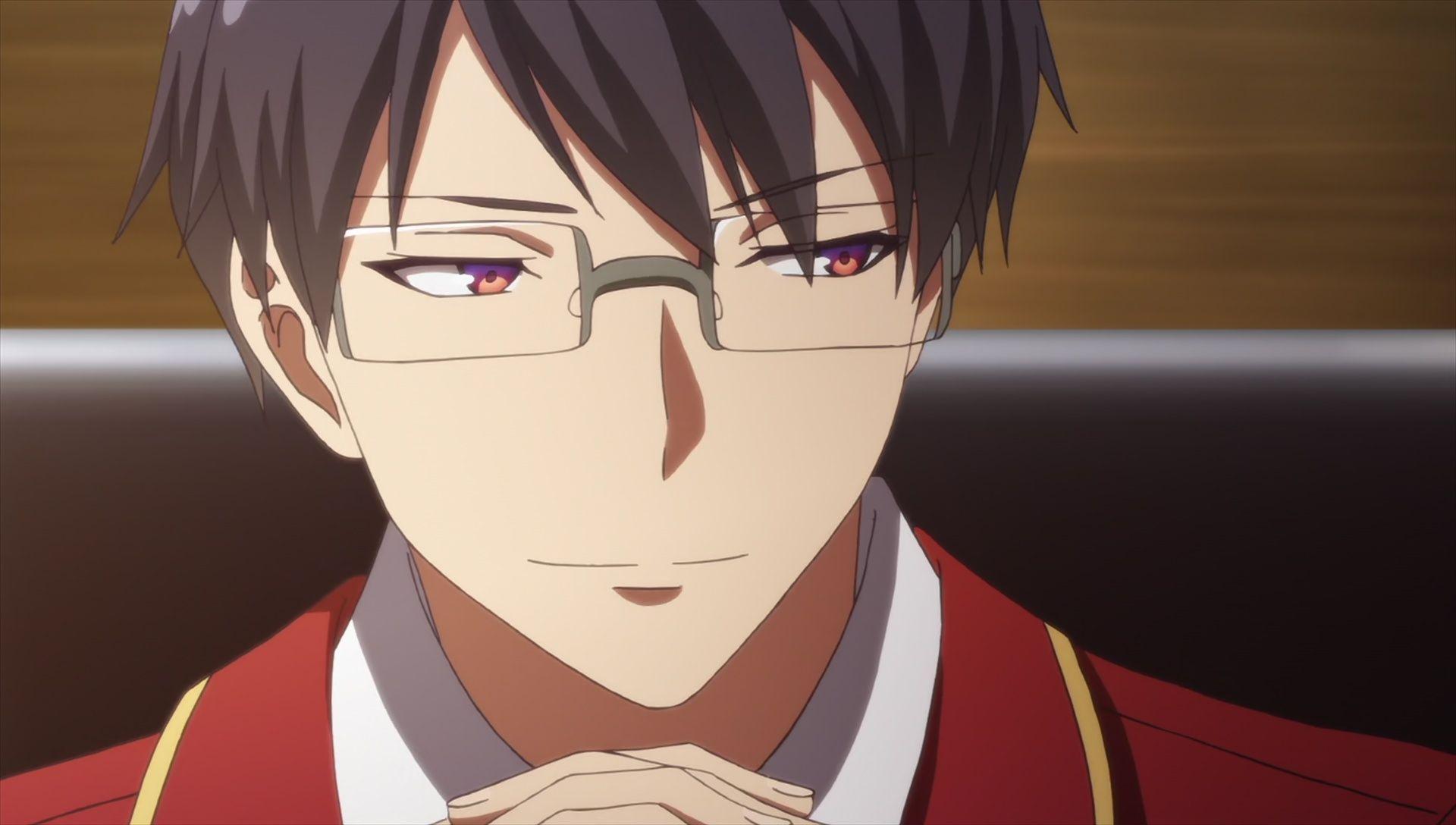 Manabu Horikita- Suzune Horikita's Elder brother