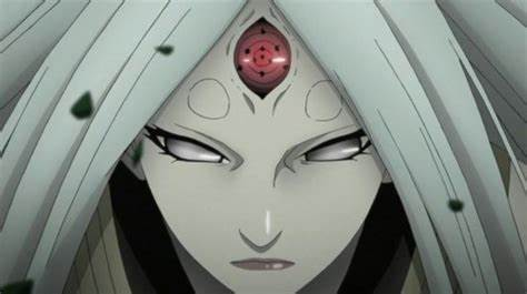 Kaguya using her rinne-sharingan