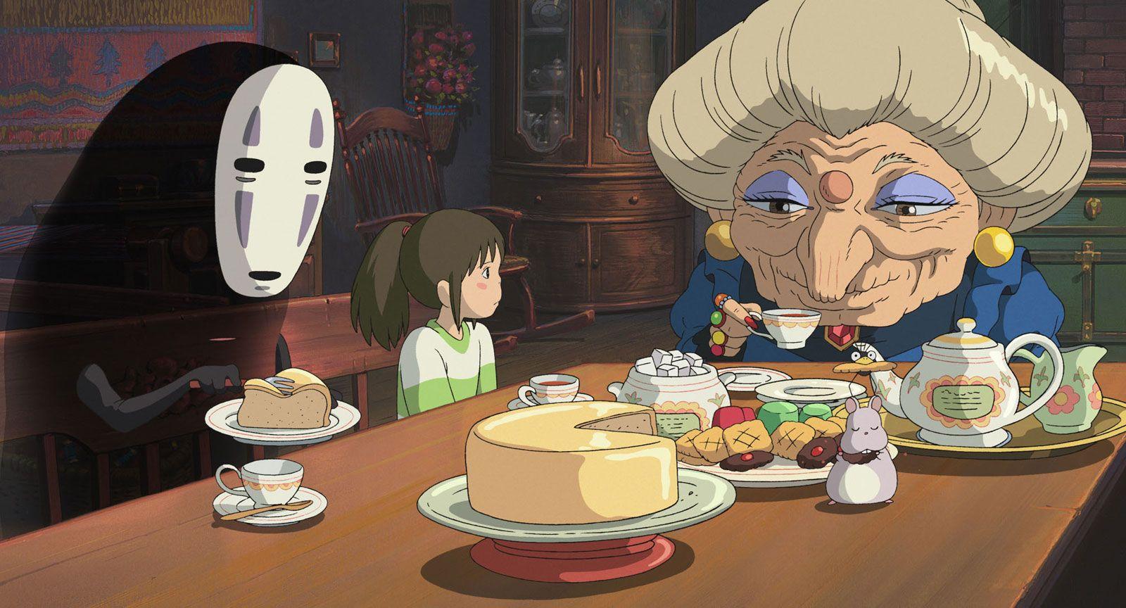 Spirited Away studio ghibli Miyazaki film