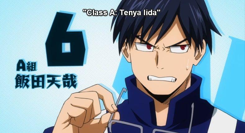 Facts About Tenya Iida