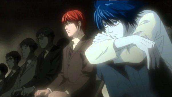 Light Yagami and Ryuk