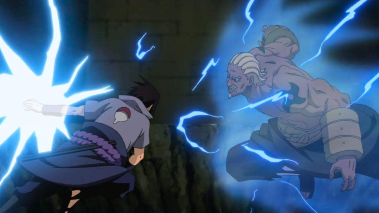 Sasuke Vs Raikage