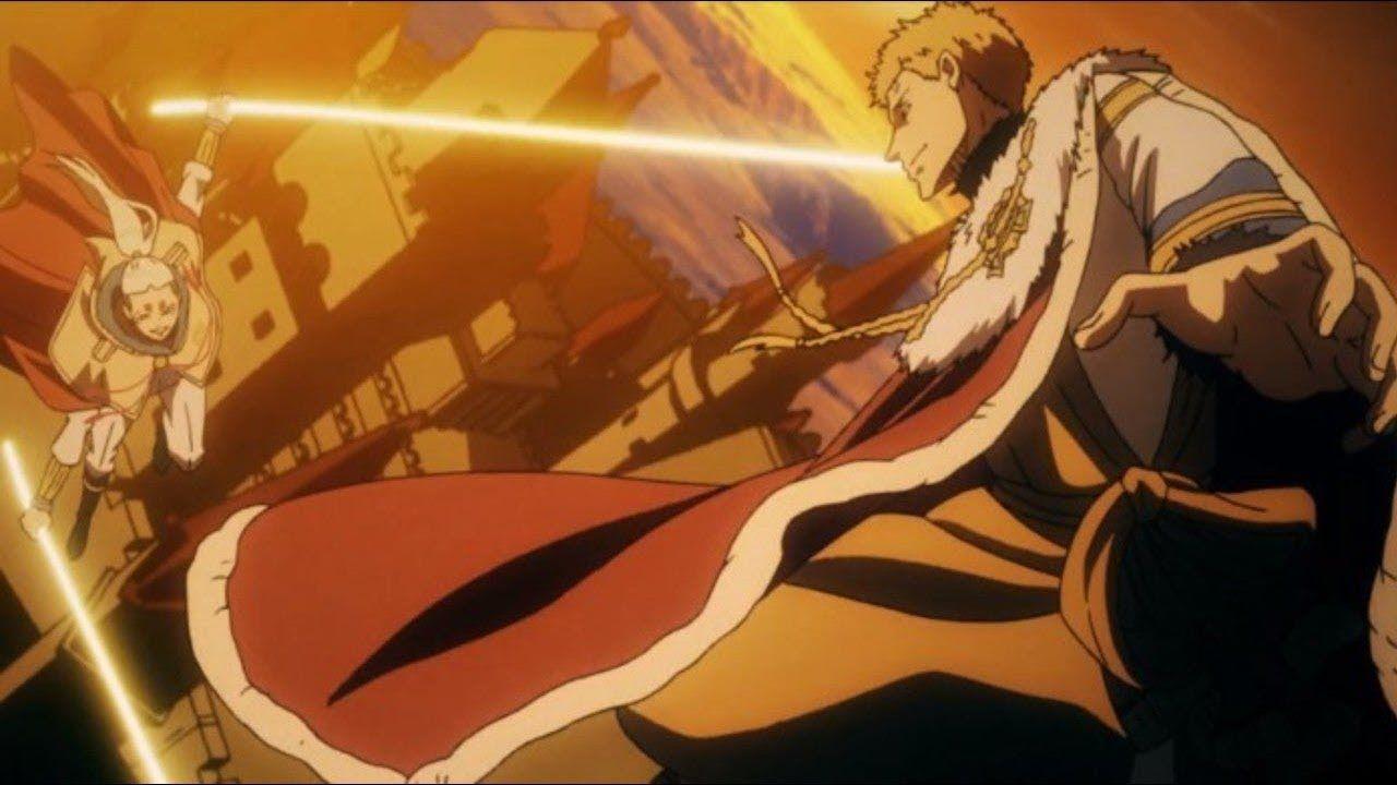 Julius fights the Eye of the Midnight Sun