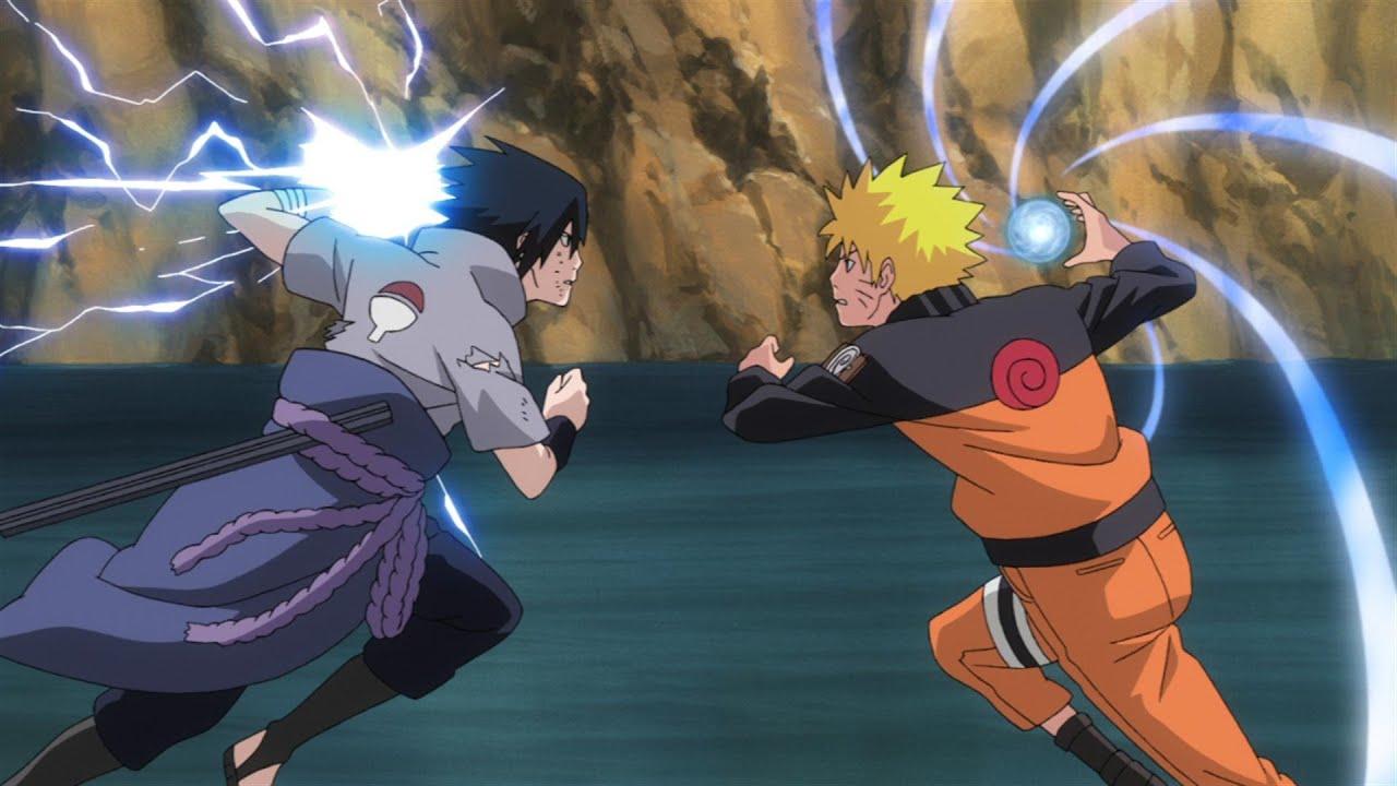 Sasuke Uchiha vs Naruto