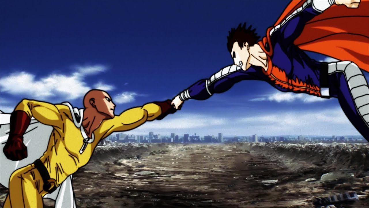 One punch man vs blast