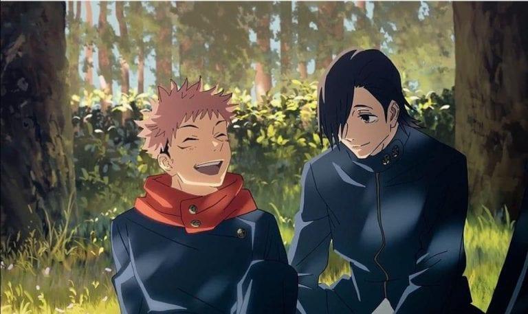 Junpei and Itadori