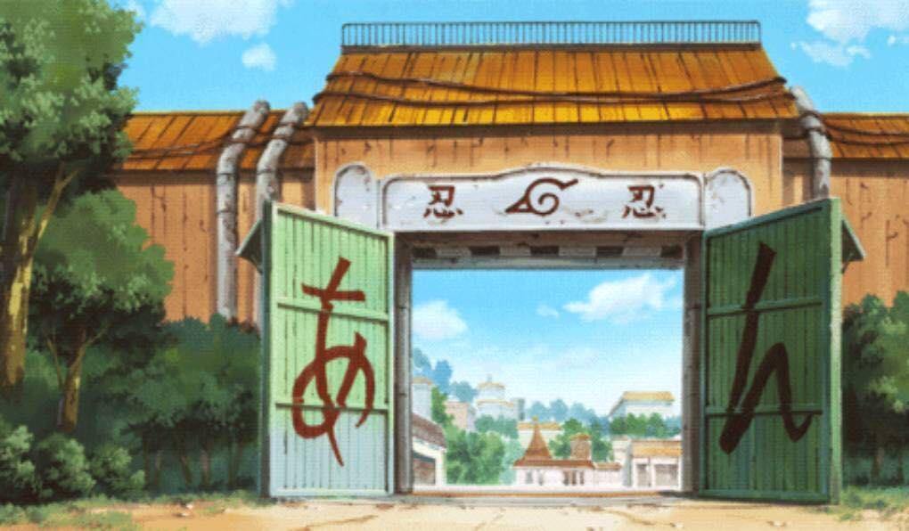 hidden leaf village shinobi  naruto