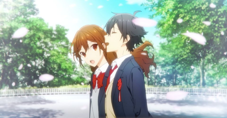 Hori-san and Miyamura-kun being together