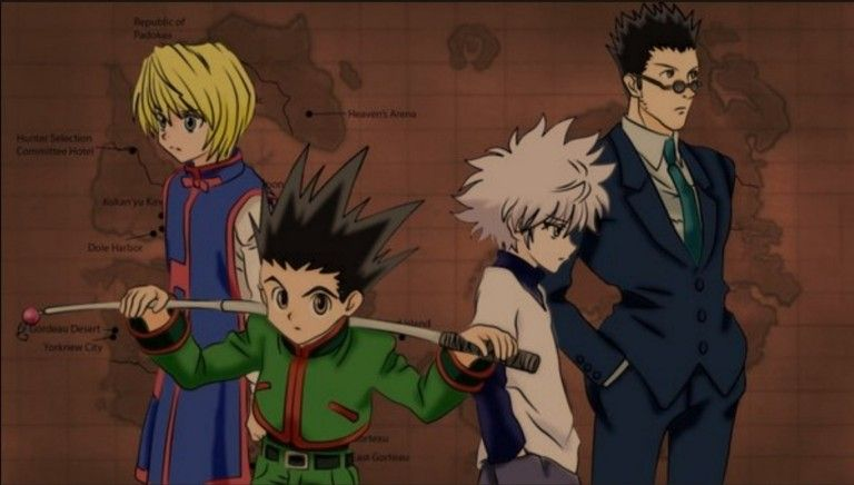 Gon with friends
