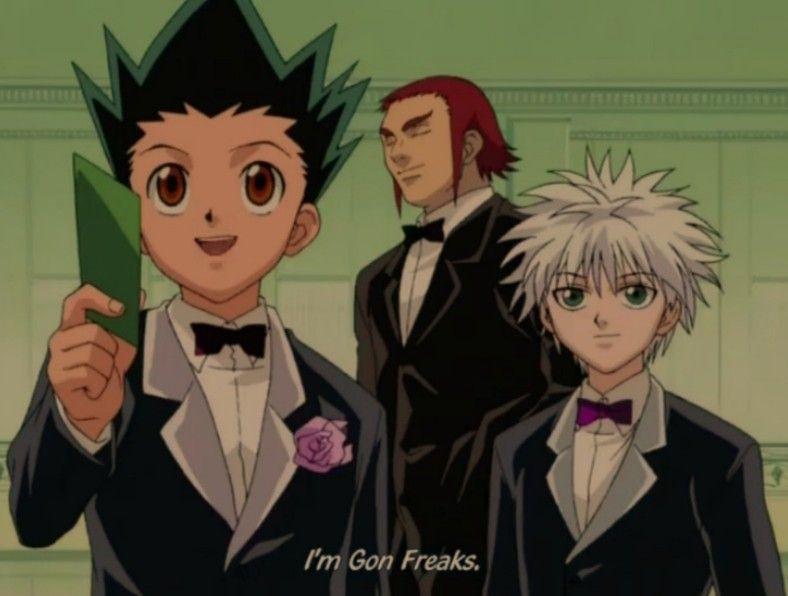 Zephile, Gon and Killua